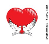 vector illustration of two...   Shutterstock .eps vector #568474585