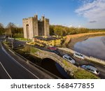 bunratty castle and durty nelly'... | Shutterstock . vector #568477855