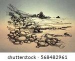 beach   Shutterstock . vector #568482961