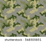 fashionable camouflage pattern  ... | Shutterstock .eps vector #568505851