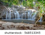 noppiboon waterfall l in the... | Shutterstock . vector #568513345