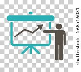 project presentation icon.... | Shutterstock .eps vector #568516081