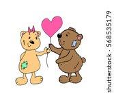 bears. | Shutterstock .eps vector #568535179