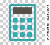 calculator icon. vector...   Shutterstock .eps vector #568535545