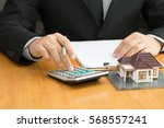 mortgage home | Shutterstock . vector #568557241