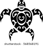 maori style turtle. good for...