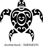 maori style turtle. good for...