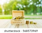business concept     micro ... | Shutterstock . vector #568573969