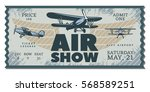 Vintage Air Show Pass Ticket...