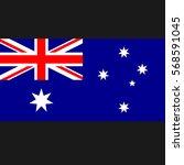 australia flag proportion 2 3 | Shutterstock .eps vector #568591045