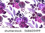 Watercolor Floral Pattern....