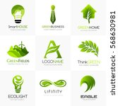 Organic And Green Logo Templat...