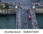 paris  france   october 5  2016 ... | Shutterstock . vector #568647604
