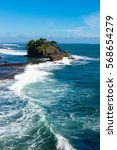 """temple """"tanah lot"""" on the... 