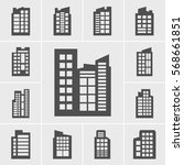 icons building set | Shutterstock .eps vector #568661851