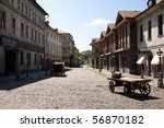 Постер, плакат: Old town scenery on