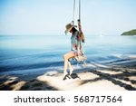 outdoors lifestyle fashion... | Shutterstock . vector #568717564