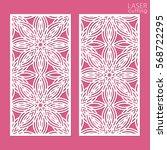 ornamental panels template for... | Shutterstock .eps vector #568722295
