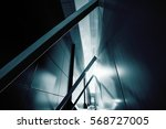 wide angle abstract background... | Shutterstock . vector #568727005