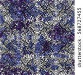 vector watercolor splashes... | Shutterstock .eps vector #568727455
