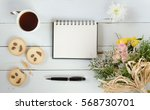 women's day blank greeting note ... | Shutterstock . vector #568730701