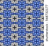 traditional square matrix... | Shutterstock .eps vector #568732177