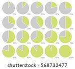 illustration circle infographic ... | Shutterstock .eps vector #568732477