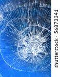 cracks  glass  broken | Shutterstock . vector #56873341
