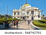 mexico city mexico   december... | Shutterstock . vector #568742701