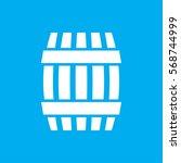 barrel icon illustration... | Shutterstock .eps vector #568744999