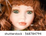 Small photo of Porcelain doll face