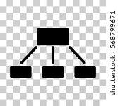 hierarchy icon. vector...   Shutterstock .eps vector #568799671