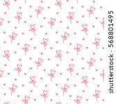heart background | Shutterstock .eps vector #568801495