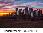 city sunrise | Shutterstock . vector #568841647