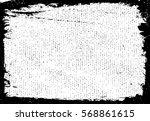 grunge frame texture. stock... | Shutterstock .eps vector #568861615