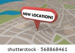 new location store business... | Shutterstock . vector #568868461