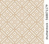 geometric seamless pattern... | Shutterstock .eps vector #568871179