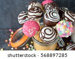 Various Cake Pops Decorated...
