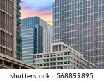 close   up high rise office... | Shutterstock . vector #568899895