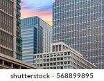 close   up high rise office... | Shutterstock . vector #568899895