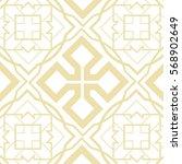 celtic shield pale gold textile | Shutterstock .eps vector #568902649
