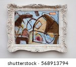 abstract art expressionism... | Shutterstock . vector #568913794
