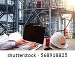 engineering industry concept... | Shutterstock . vector #568918825