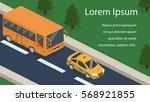 isometric 3d concept vector... | Shutterstock .eps vector #568921855