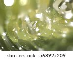 bokeh light green abstract... | Shutterstock . vector #568925209
