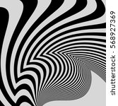 black and white abstract... | Shutterstock .eps vector #568927369