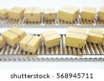packages delivery  packaging...   Shutterstock . vector #568945711