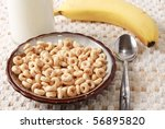 Cereal With Milk And Banana