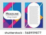 abstract vector layout... | Shutterstock .eps vector #568959877