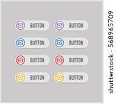 film strip icon | Shutterstock .eps vector #568965709